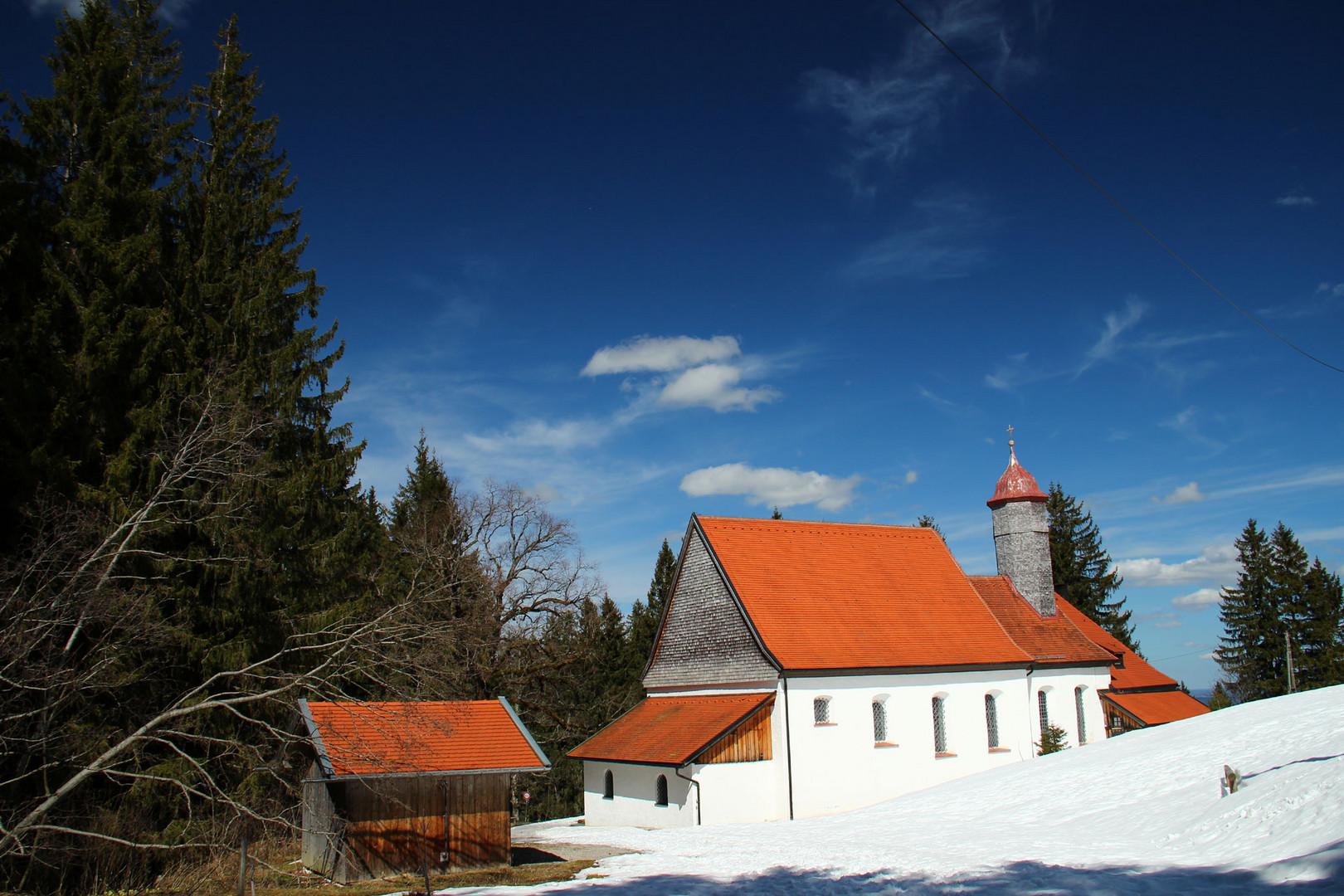 Maria Trost Kapelle nahe Nesselwang