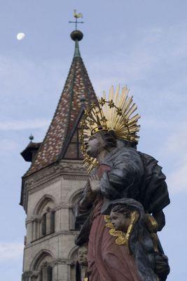 Maria vor der Johanniskirche in Schw. Gmünd