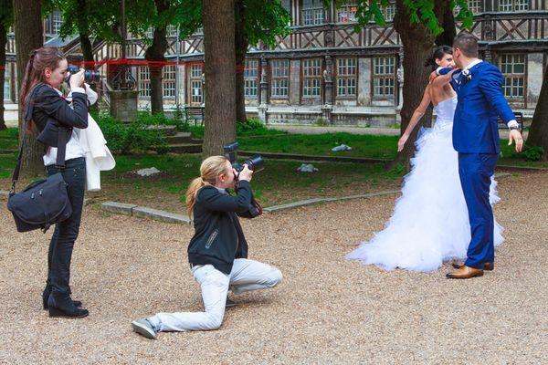 Mariage à l'ossuaire de Rouen