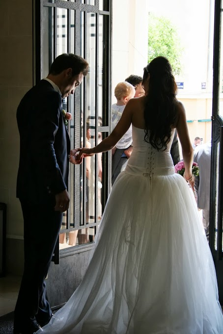 mariage, sortie de la mairie
