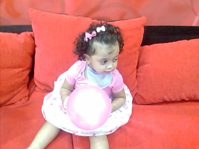 Mariam on her 2nd Birthday