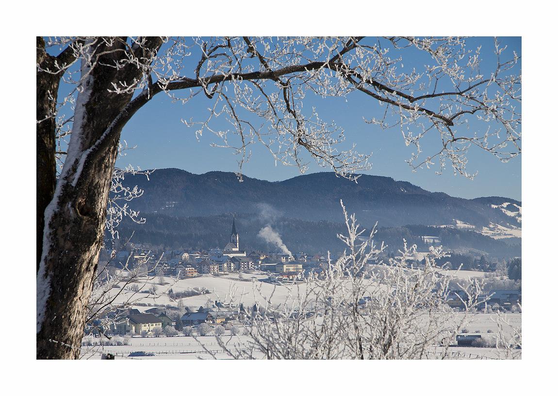 Mariapfarr im Schnee