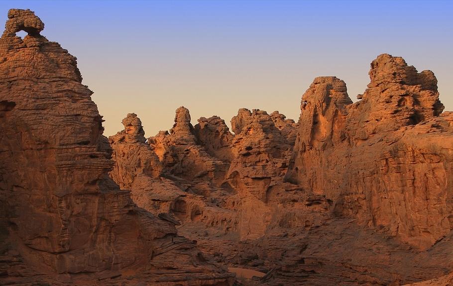 Maridet Labyrinth Libyen