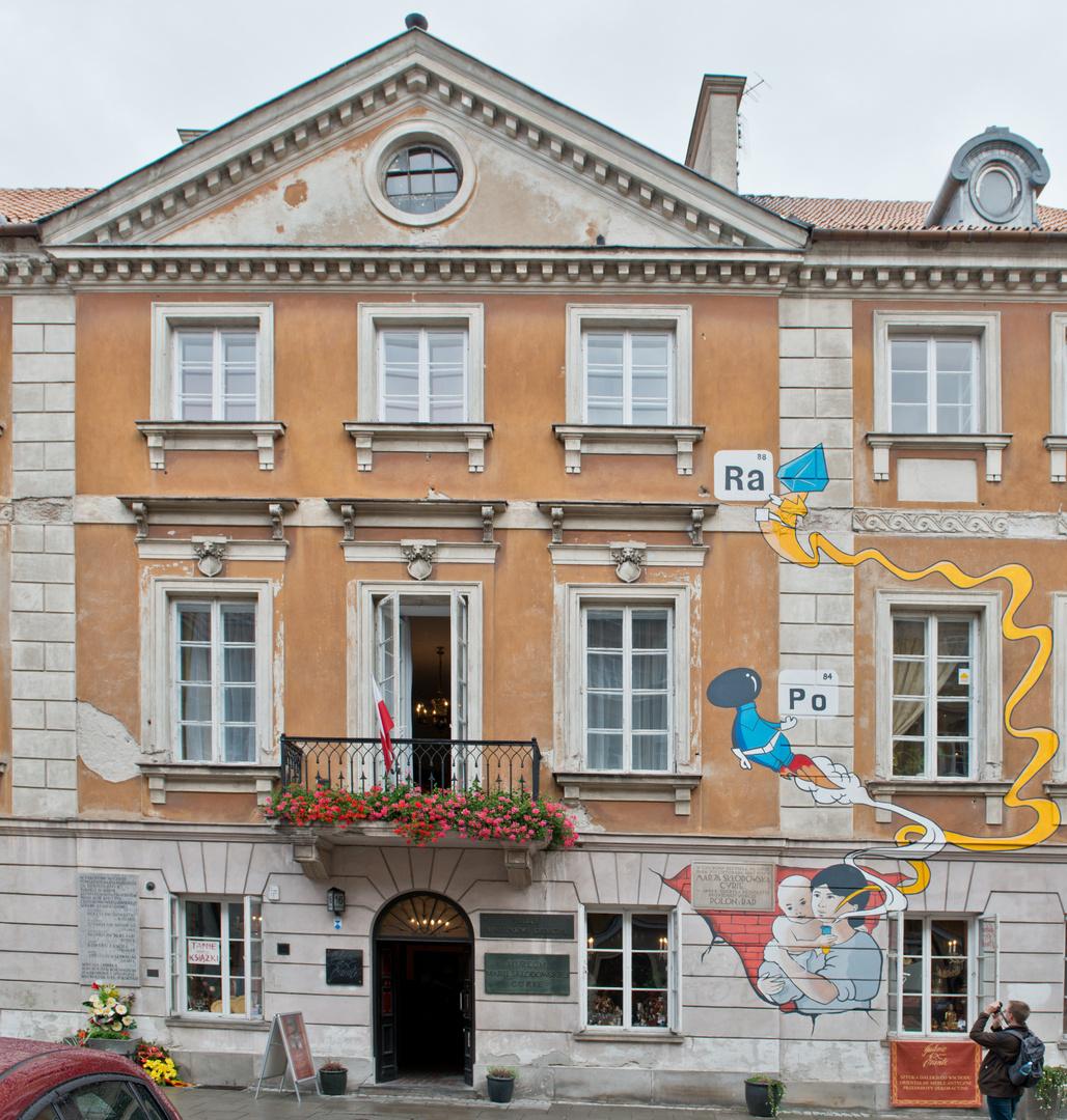 Marie Curies Geburtshaus