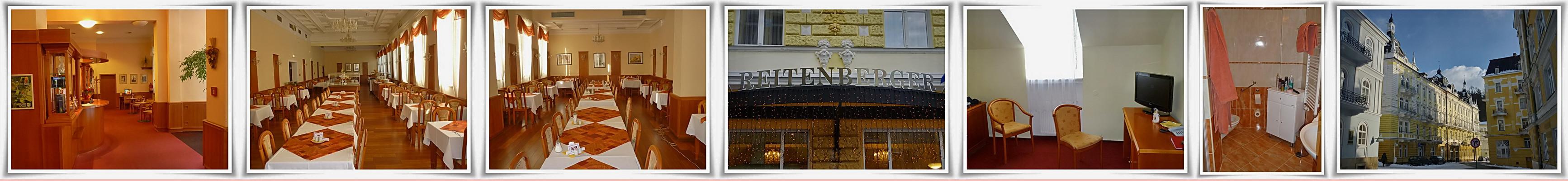 Marienbad ( 6 )  Hotel Reitenberger