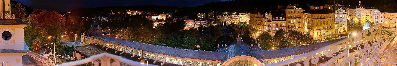 Marienbad bei Nacht