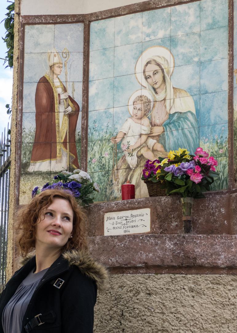 Marienbildnis in Moniga del Garda