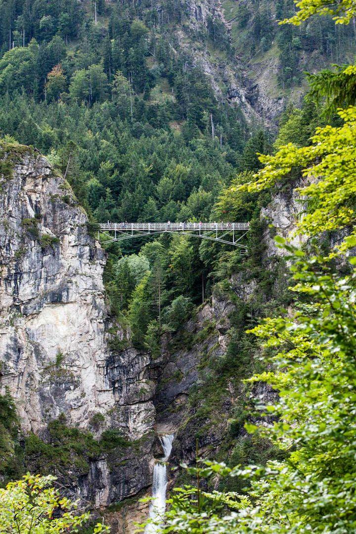Marienbrücke bei Schloss Neuschwanstein