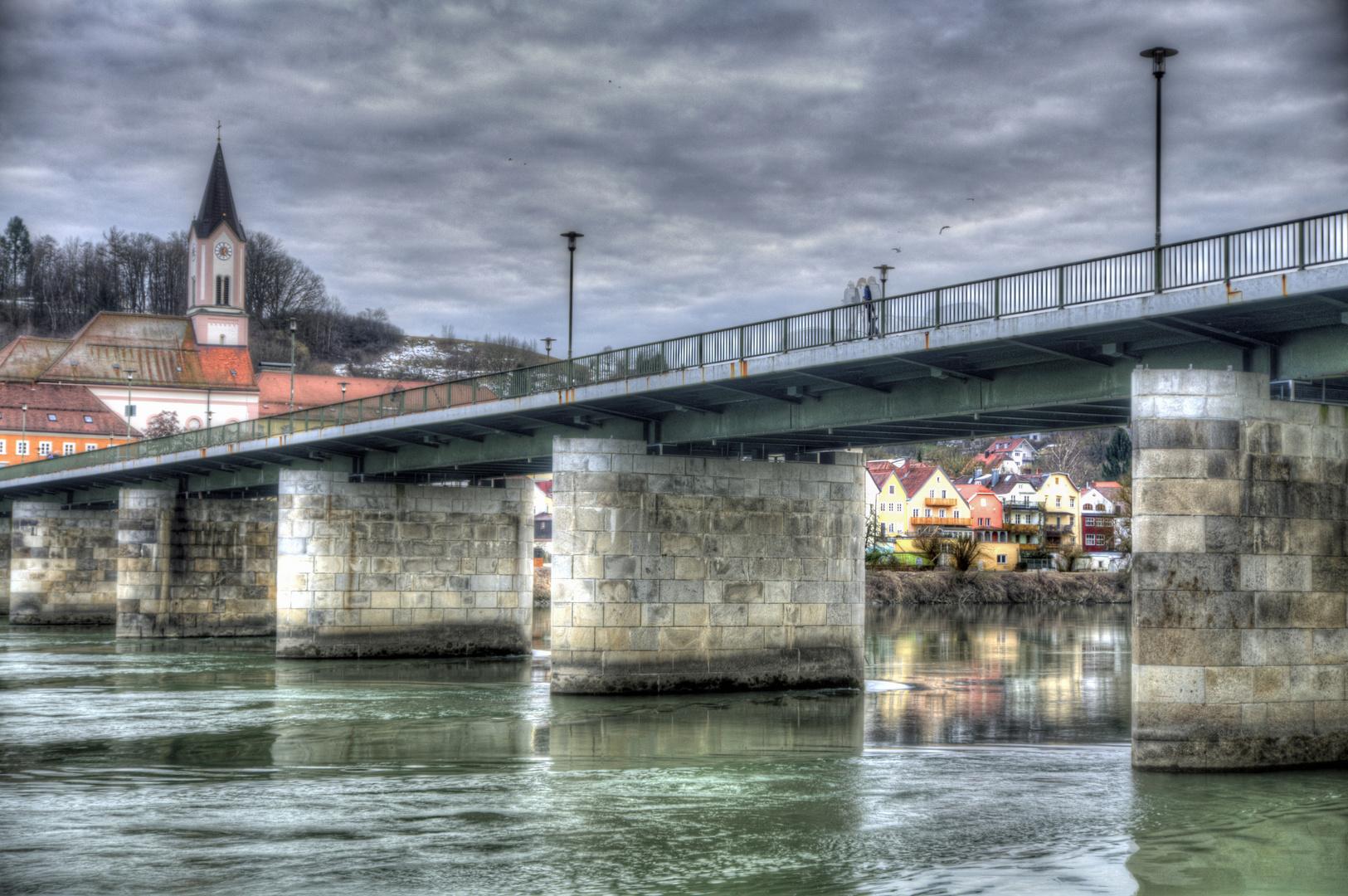 Marienbrücke (Innbrücke) in Passau