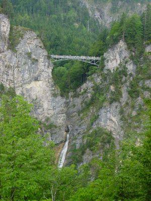 Marienbrücke über der Pöllatschlucht