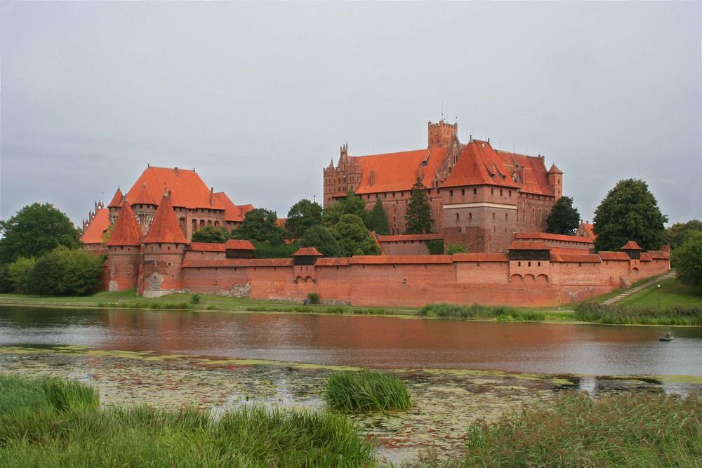 Marienburg an der Nogat (bei Danzig)