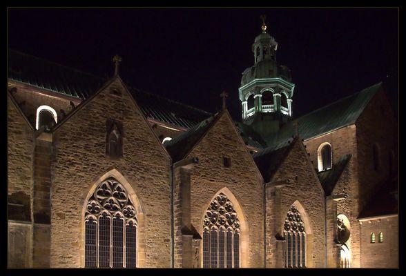 """Mariendom in Hildesheim an den Tagen der """"Lichtungen""""..."""