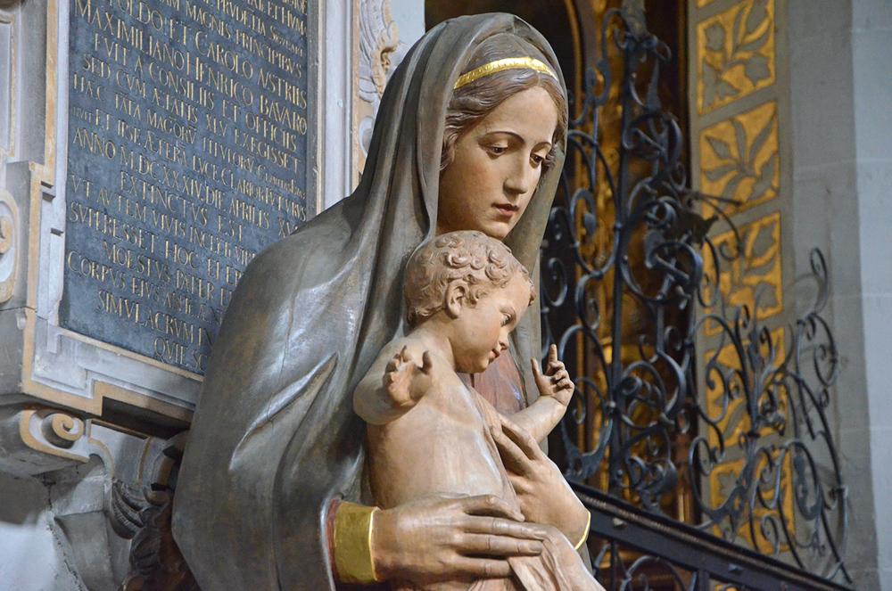 Marienfigur im Münster Unserer Lieben Frau in Konstanz