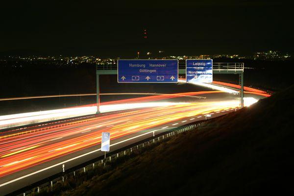 Mariengarten - Göttingen bei Nacht