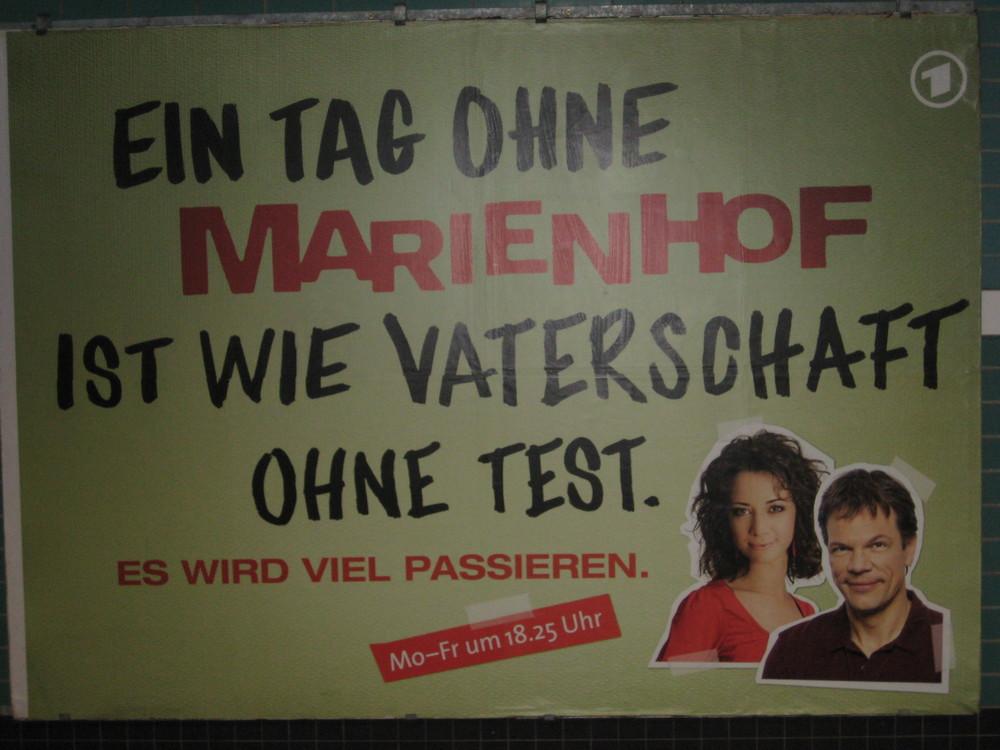 Marienhof ist wie RTL mit GEZ