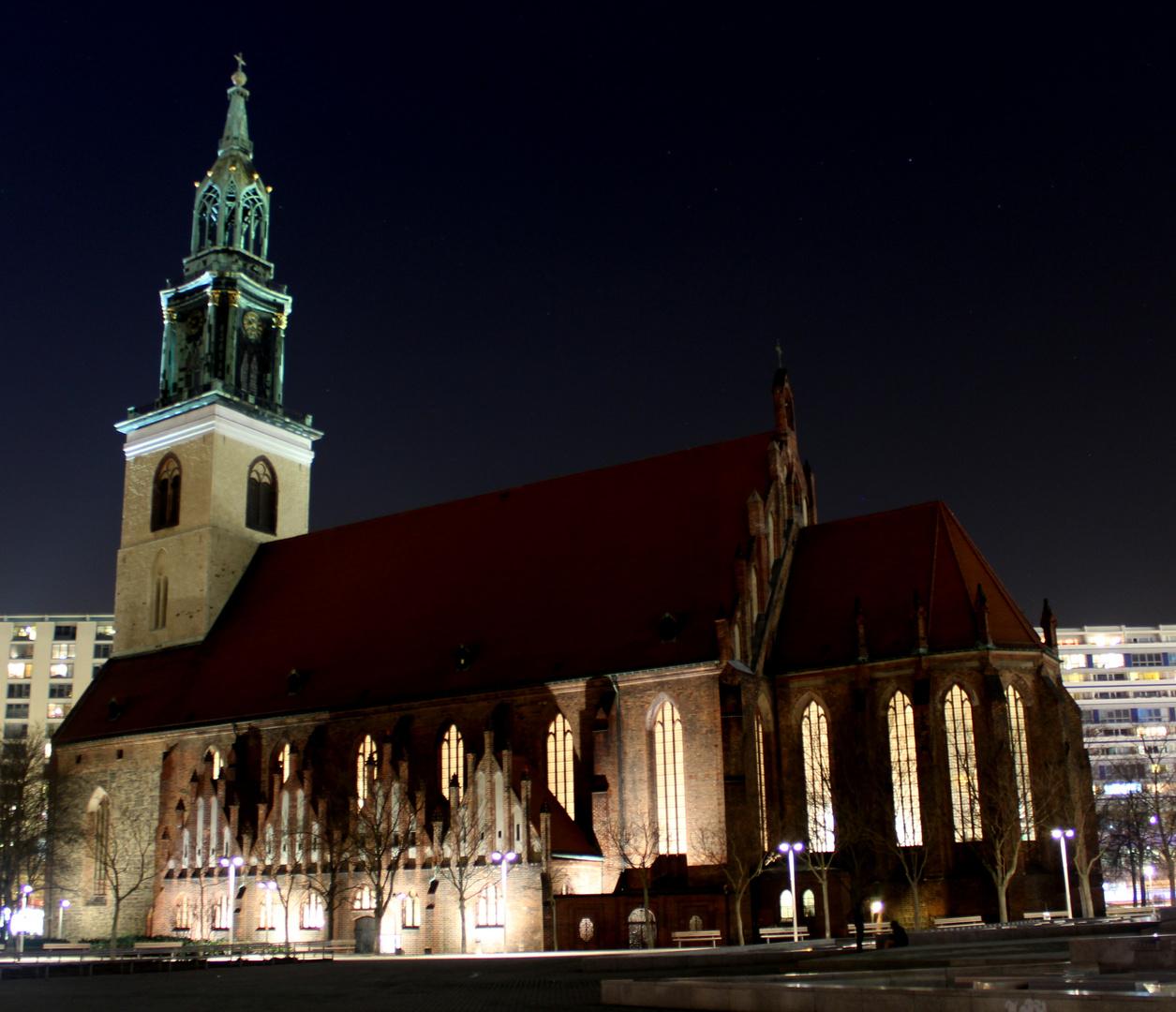 Marienkirche am Alexanderplatz
