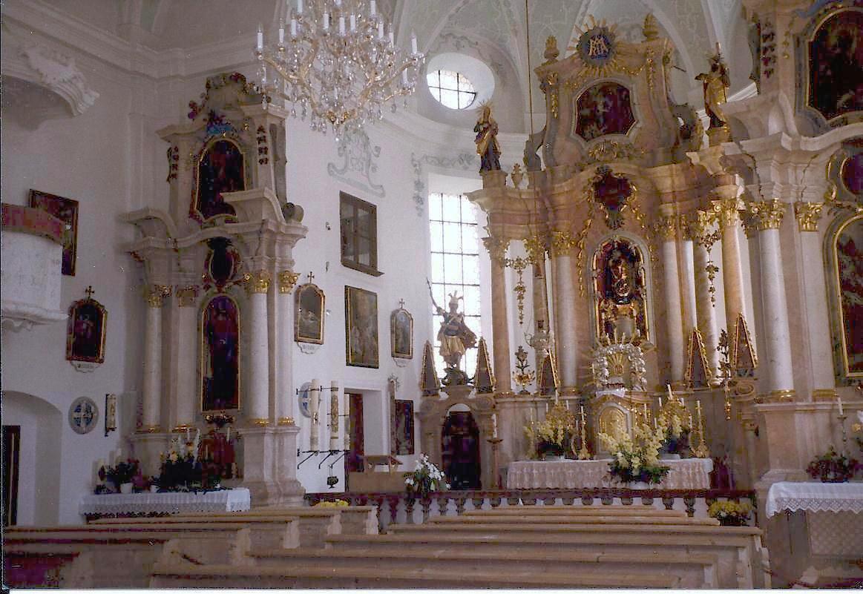 Marienkirche in Ettenberg am Untersberg