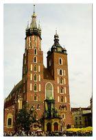 Marienkirche in Krakau Polen