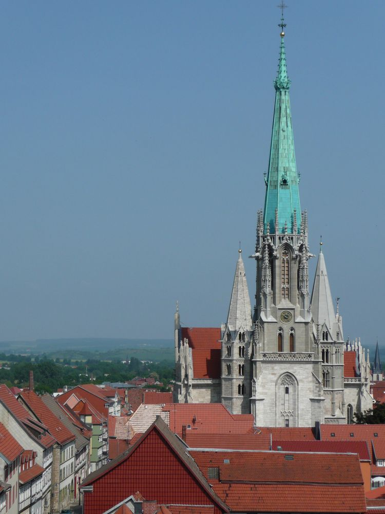 marienkirche in m hlhausen th ringen foto bild architektur sakralbauten au enansichten. Black Bedroom Furniture Sets. Home Design Ideas