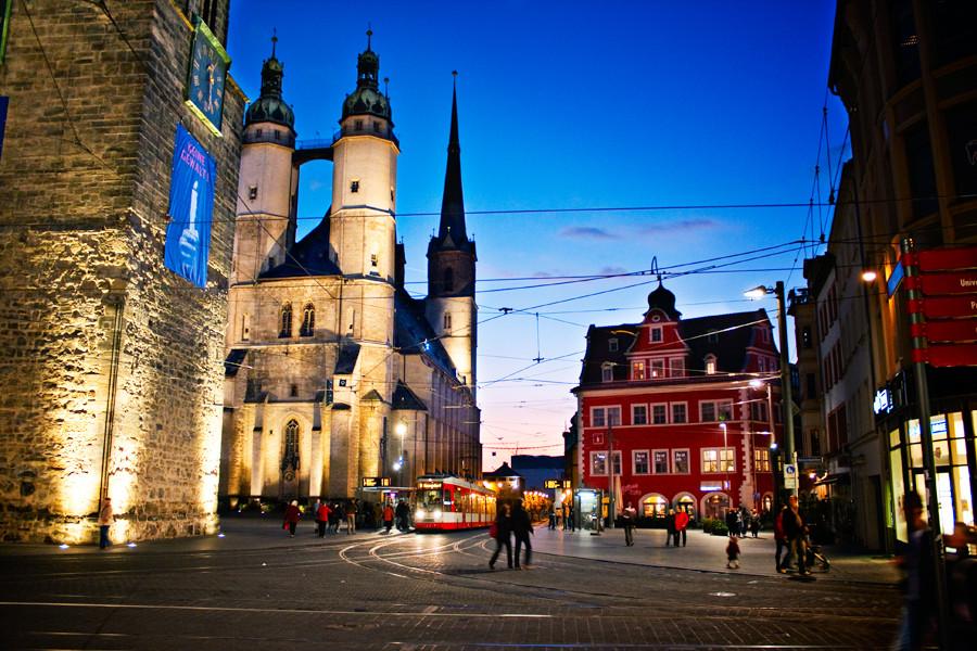 Marienkirche & Marktschlösschen