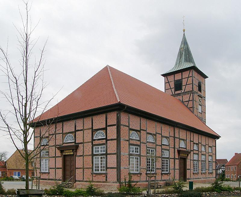 Marienkirche zu Neuhaus/  Elbe