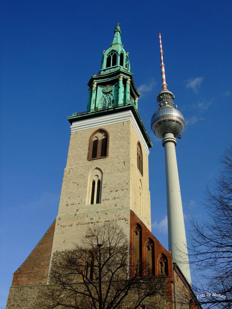 Marienkirche/Fernsehturm