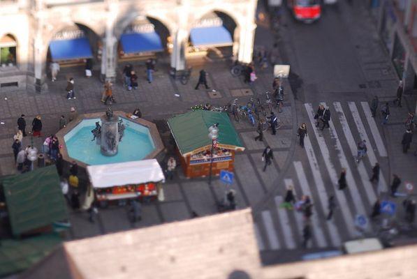 Marienplatz en miniature