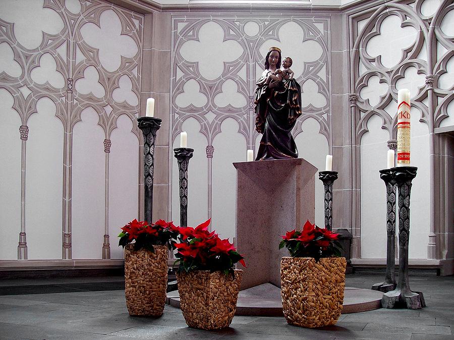 Marienstatue Lambertikirche