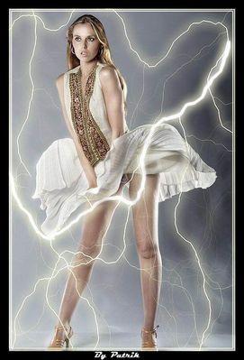 Marilyn in Storm