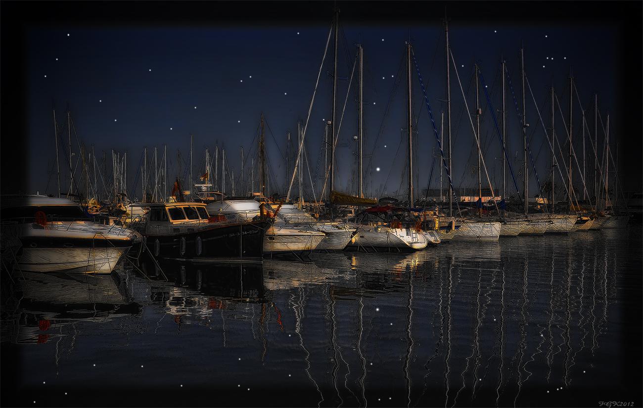 Marina 1   (Sitges AiguaDolce Noct)