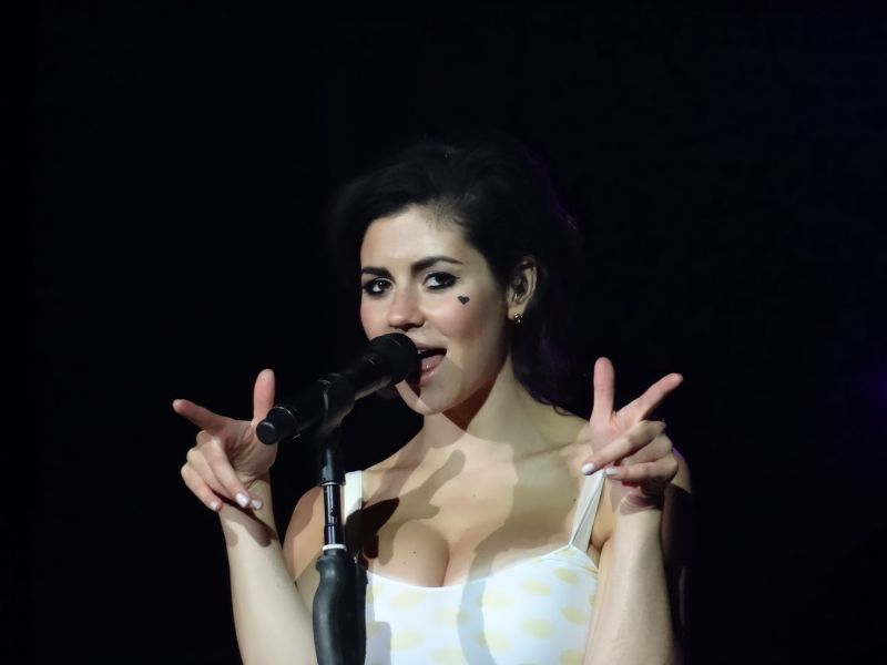 Marina and the Diamonds, Vorband Coldplay Hannover 22.09.2012