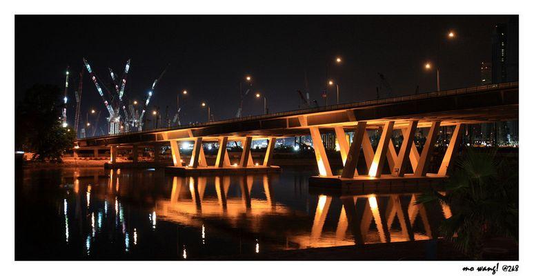 Marina Bay Bridge @ Singapore