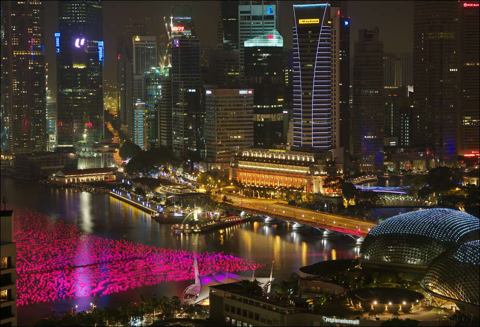 Marina Bay @ night IV