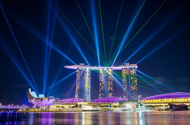 Marina Bay Sands - Limited Edition Print - Singapore
