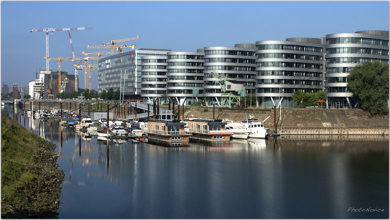 Marina Duisburg Innenhafen