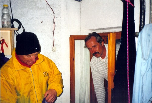 Marinelli-Hütte,Notbiwak?