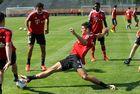 Mario Gomez zum letzten Mal im FC Bayern Trikot