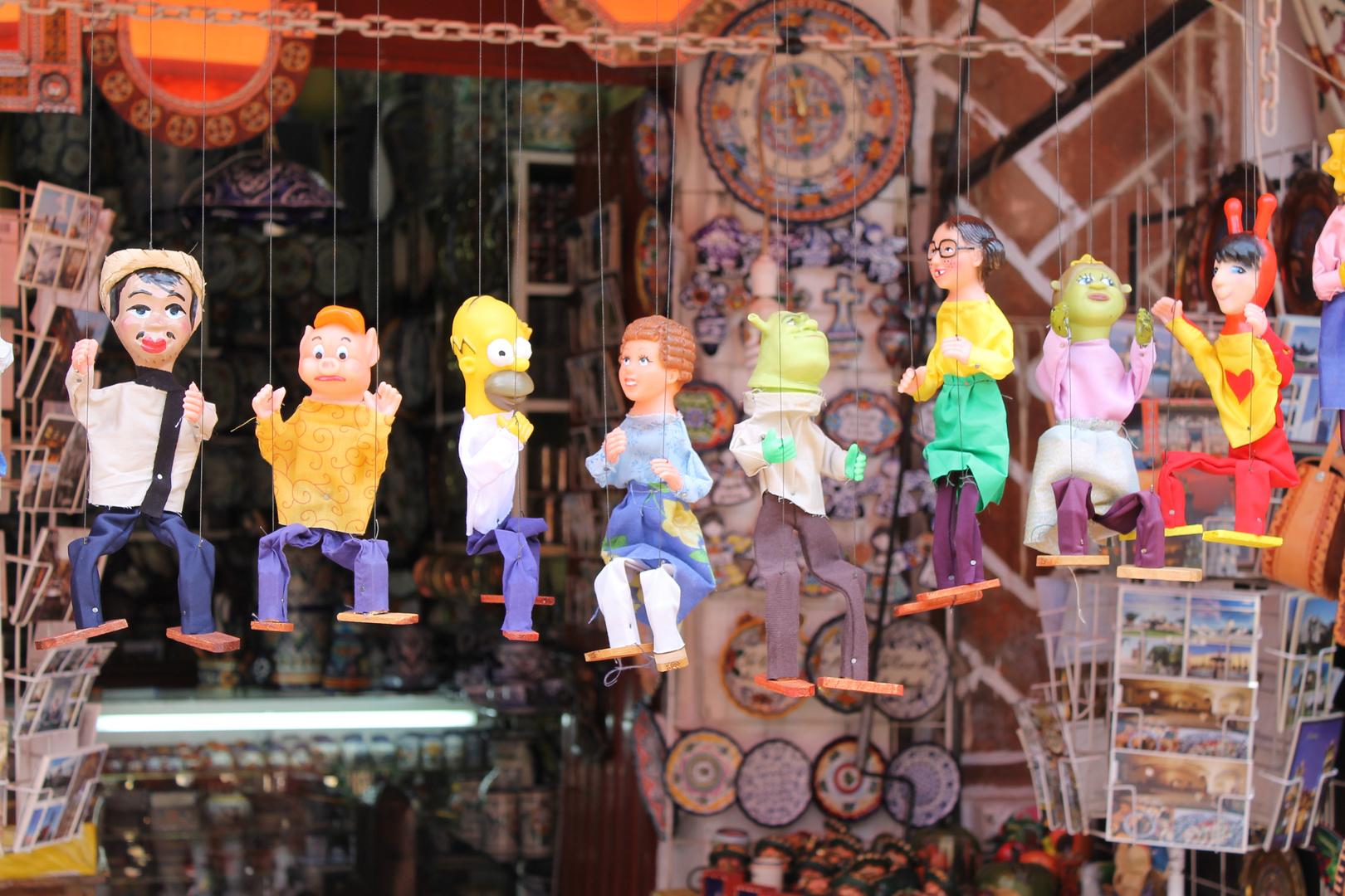 Marionetas!