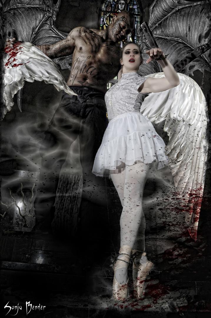 Marionnette de ballerines