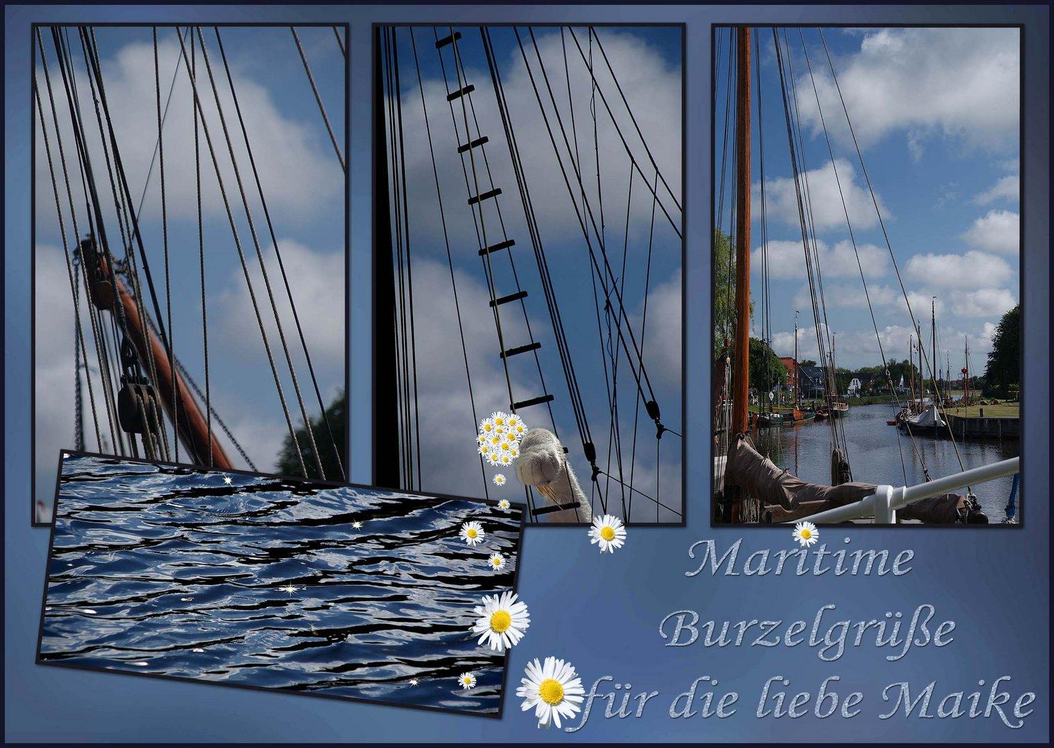 Maritime Burzelgrüße