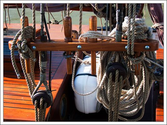 Maritime Details ( Belegnägel )