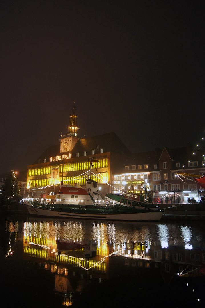 Maritimes Weihnachten in Emden