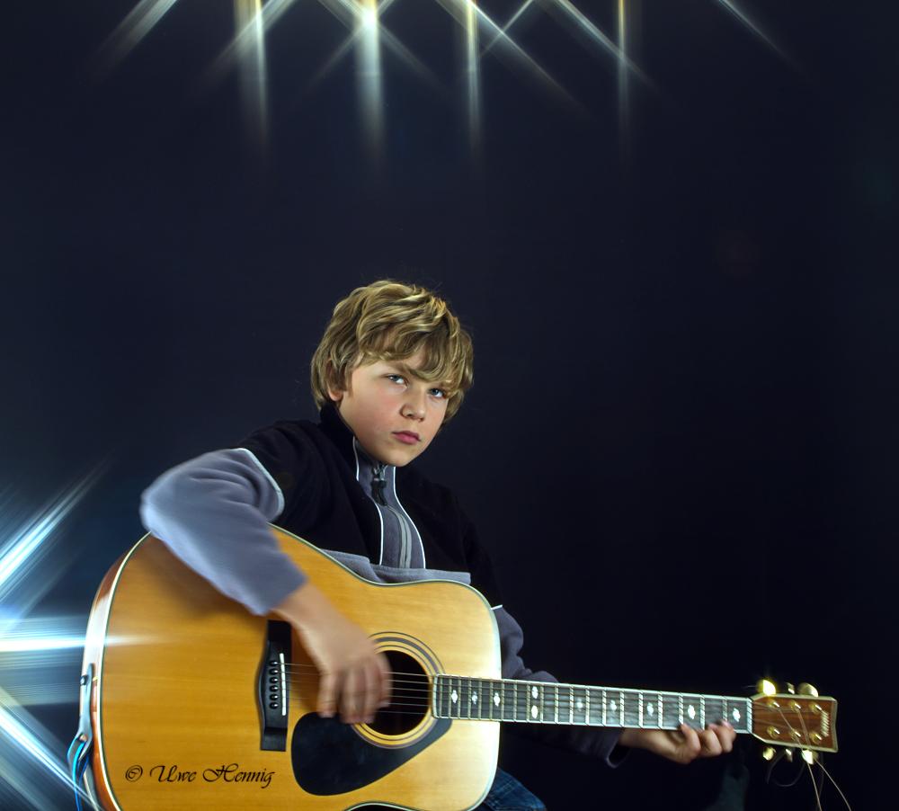 Marius im Rampenlicht