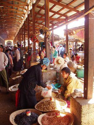Market at Inle Lake
