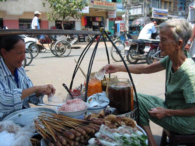Market in Ho Chi Minh