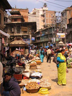 Market in Kathmandu 4