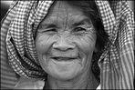 Market woman in Psar Thmei, Phnom Penh, Cambodia