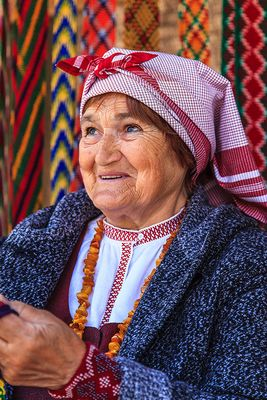 Market Woman in Vilnius