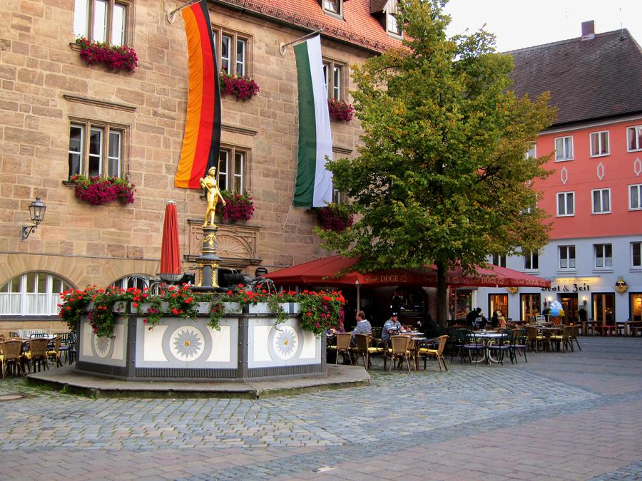 Markgraf-Georg-Brunnen