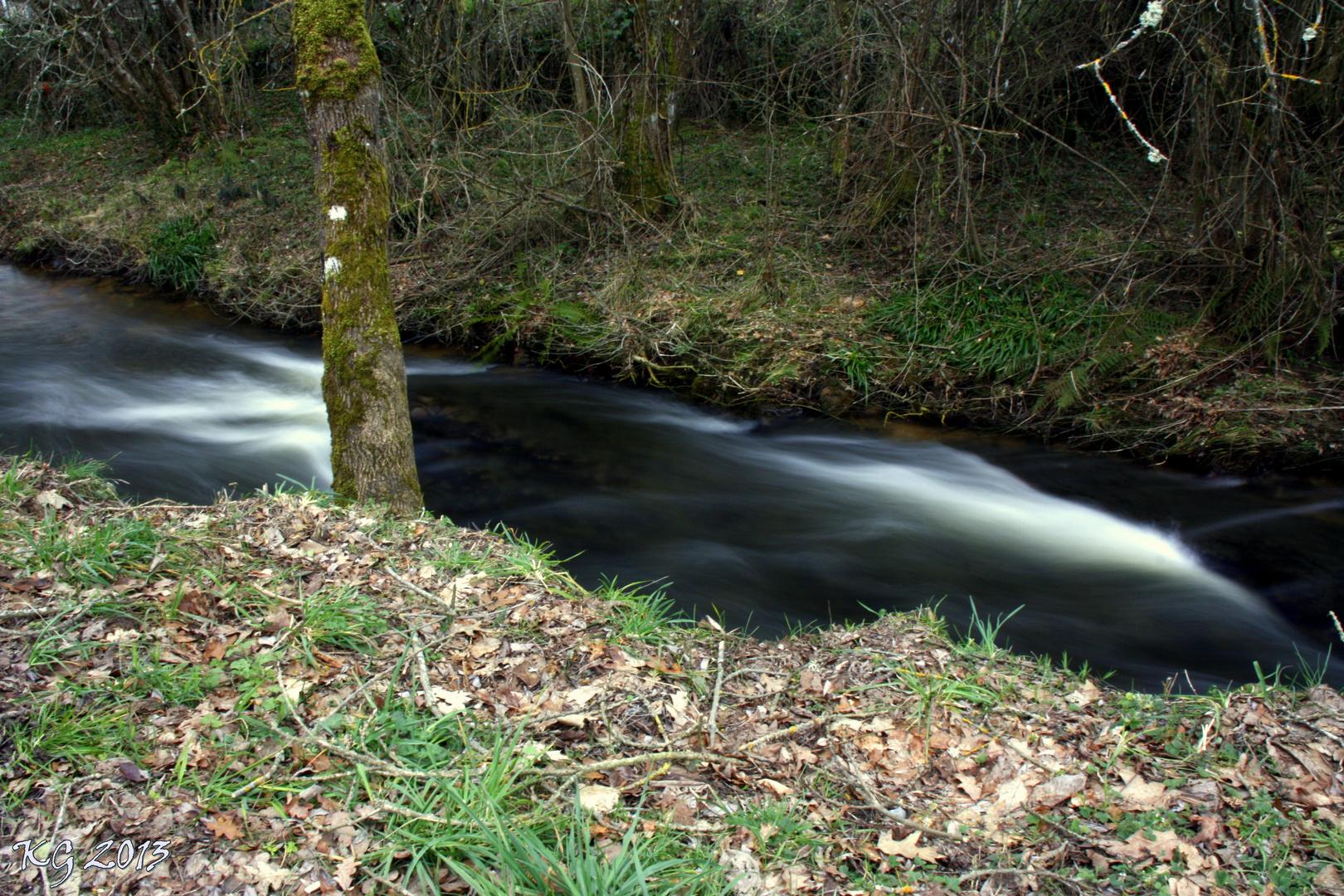 Markina rio Ugalde ( alava )